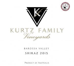 Kurtz Shiraz 2015 Hi-Res Label