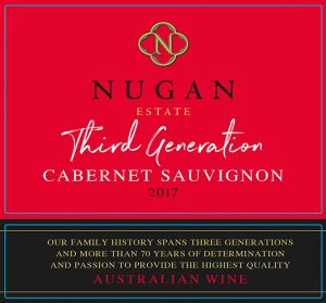 Nugan 3rd Gen Cabernet Sauvignon 2017 Hi-Res Label