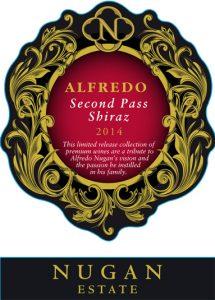 Nugan Alfredo Second Pass Shiraz 2014 Hi-Res Label