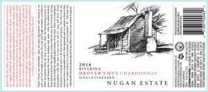 Nugan-Drovers Hut Chardonnay 2016 Hi-Res Label