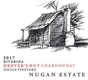 Nugan Drover's Hut Chardonnay 2017 Hi-Res Label