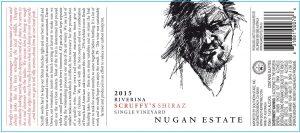 Nugan Scruffy's Shiraz 2015 Hi-Res Label