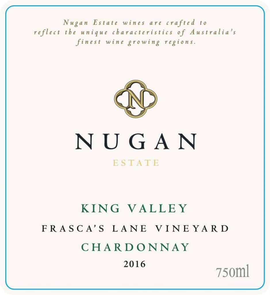 Nugan Frasca's Lane Chardonnay 2016 Hi-Res Label