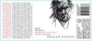 Nugan Scruffy's Shiraz 2016 Hi-Res Label