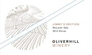Oliverhill Jimmy Section Shiraz 2014 Hi-Res Label