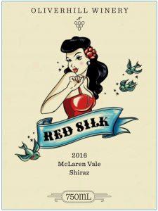 Oliverhill Red Silk Shiraz 2016 Hi-Res Label
