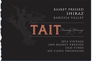 Tait Basket Pressed Shiraz 2014 Hi-Res Label