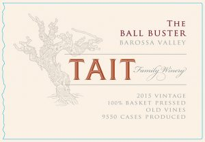 Tait The Ball Buster 2015 Hi-Res Label