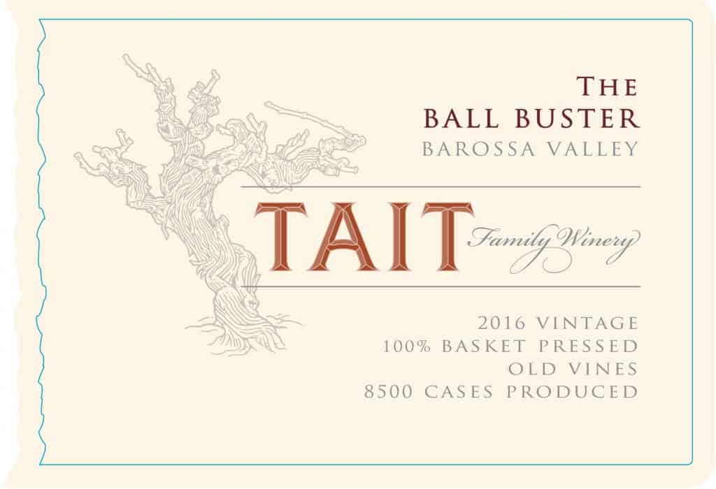 Tait The Ball Buster 2016 Hi-Res Label