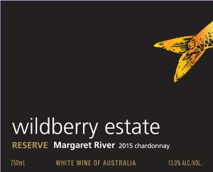 Wildberry Reserve Chardonnay 2015 Hi-Res Label