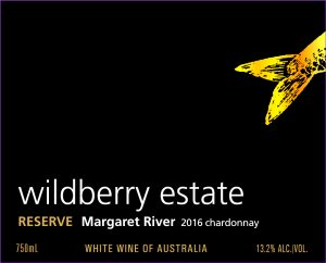 Wildberry Reserve Chardonnay 2016 Hi-Res Label
