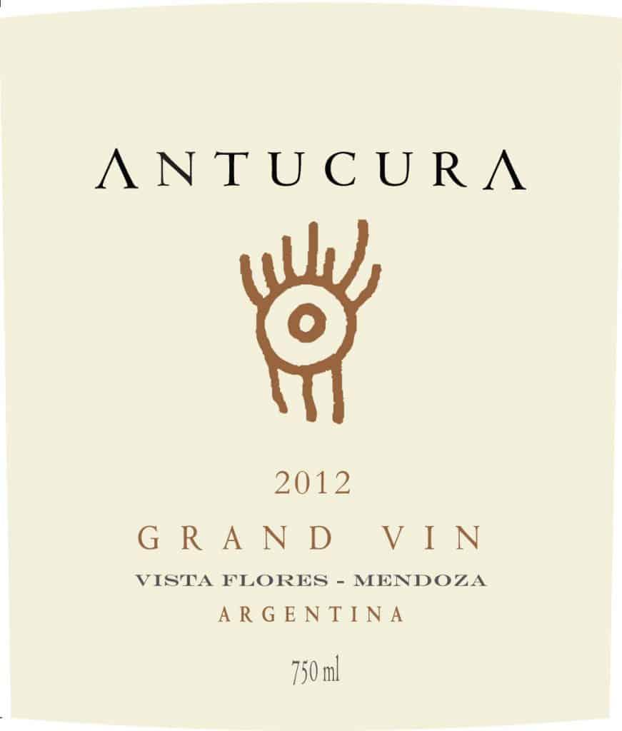 Antucura Gran Vin 2012 Hi-Res Label
