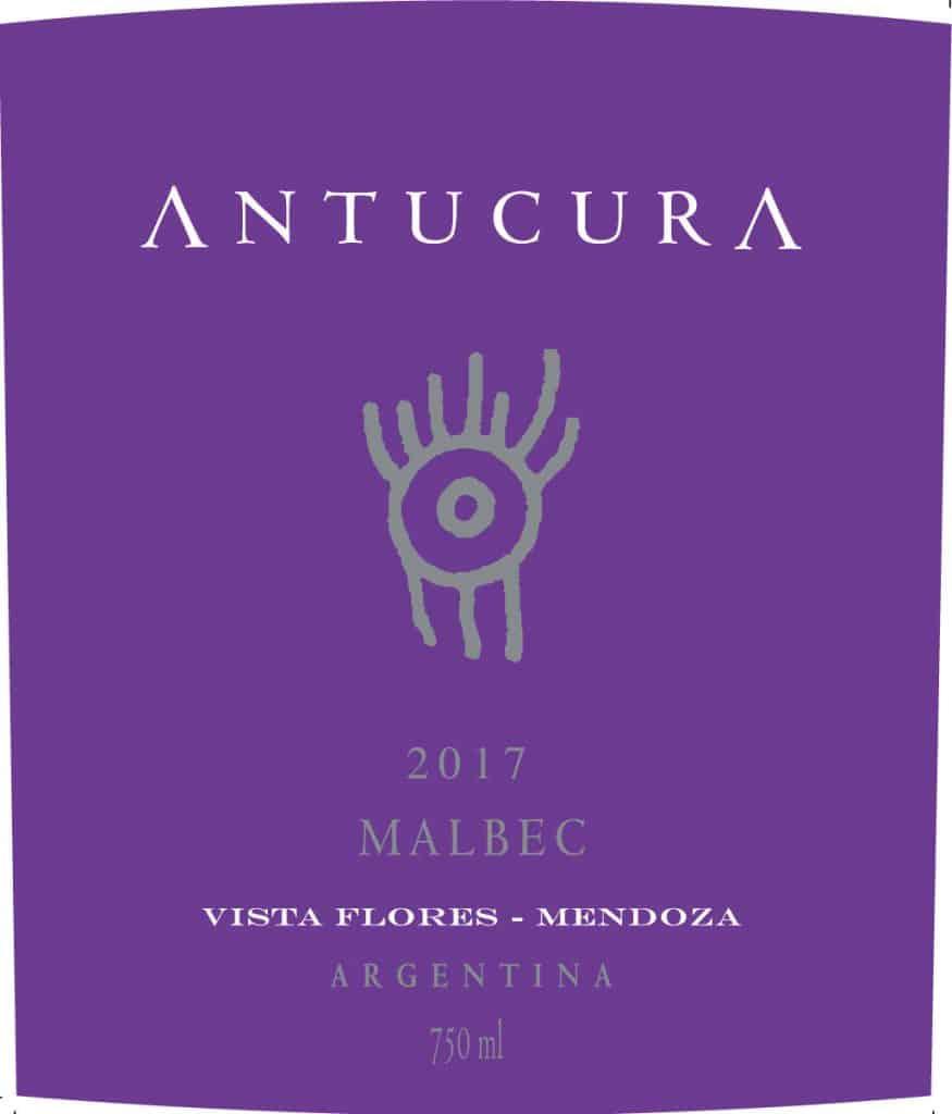 Antucura Malbec 2017 Hi-Res Label