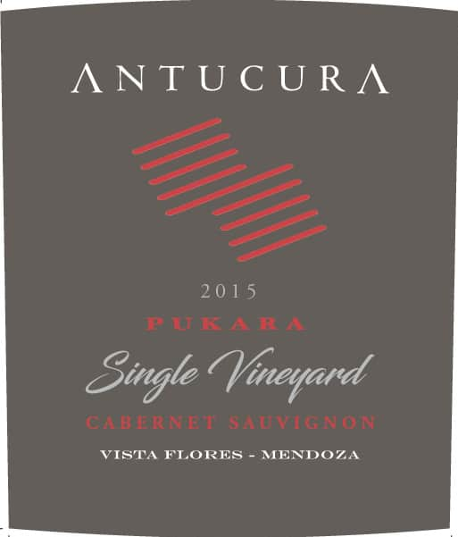 Antucura Single Vineyard Pukara Cabernet Sauvignon 2015 Hi-Res Label