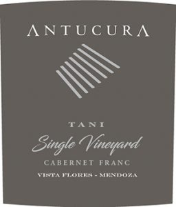 Antucura Single Vineyard Tani Cabernet Franc 2016 Hi-Res Label