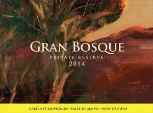 Casas del Bosque Gran Bosque Cabernet Sauvignon 2014 Hi-Res Label