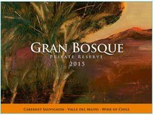 Casas del Bosque Gran Bosque Cabernet Sauvignon 2015 Hi-Res Label