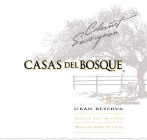 Casas del Bosque Gran Reserva Cabernet Sauvignon 2015 Hi-Res Label
