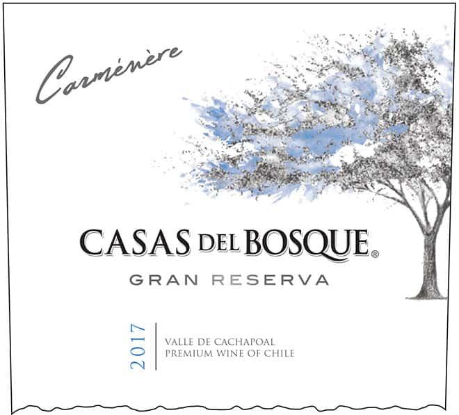 Casas del Bosque Gran Reserva Carmenere 2017 Hi-Res Label