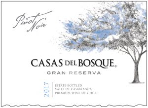 Casas del Bosque Gran Reserva Pinot Noir 2017 Hi-Res Label