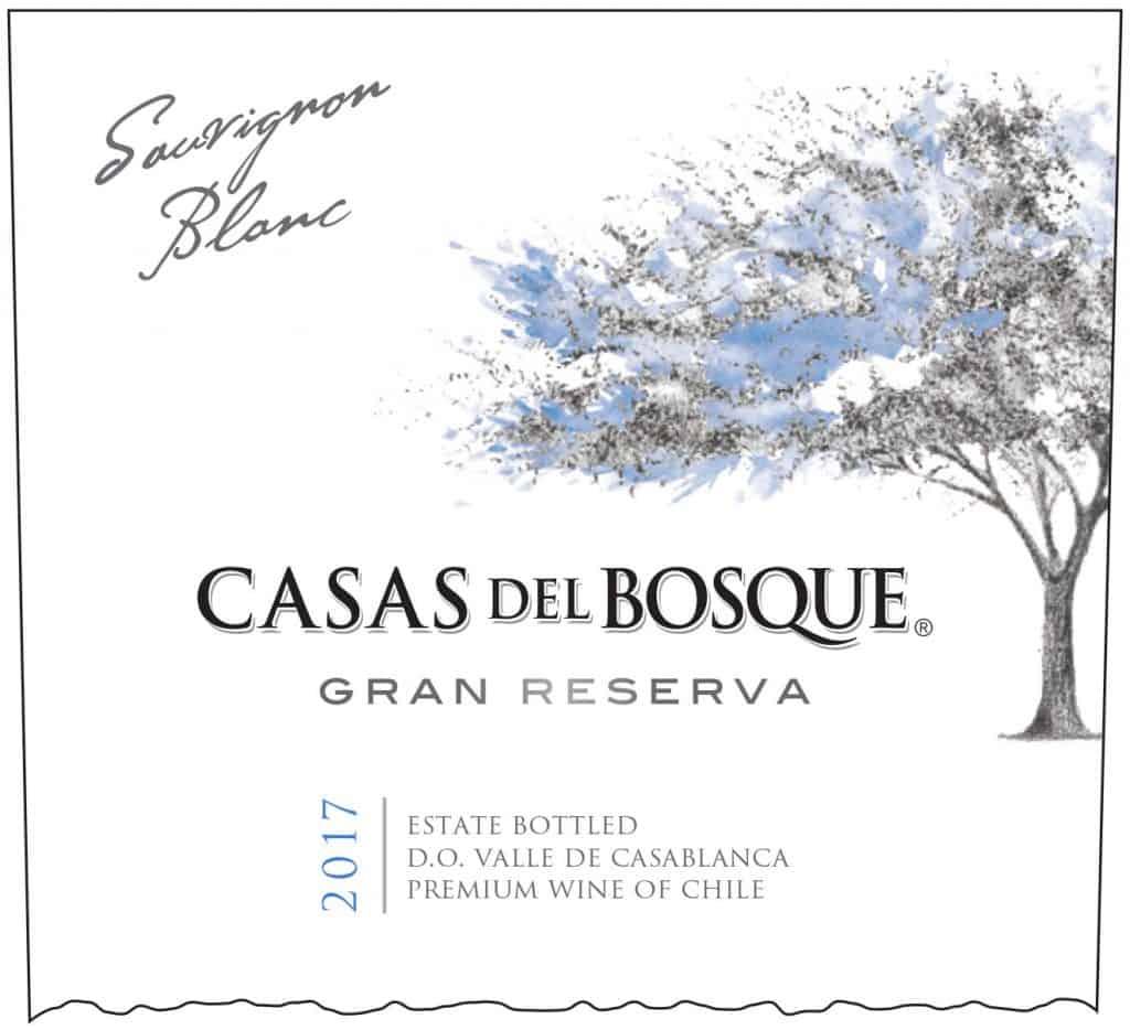 Casas del Bosque Gran Reserva Sauvignon Blanc 2017 Hi-Res Label