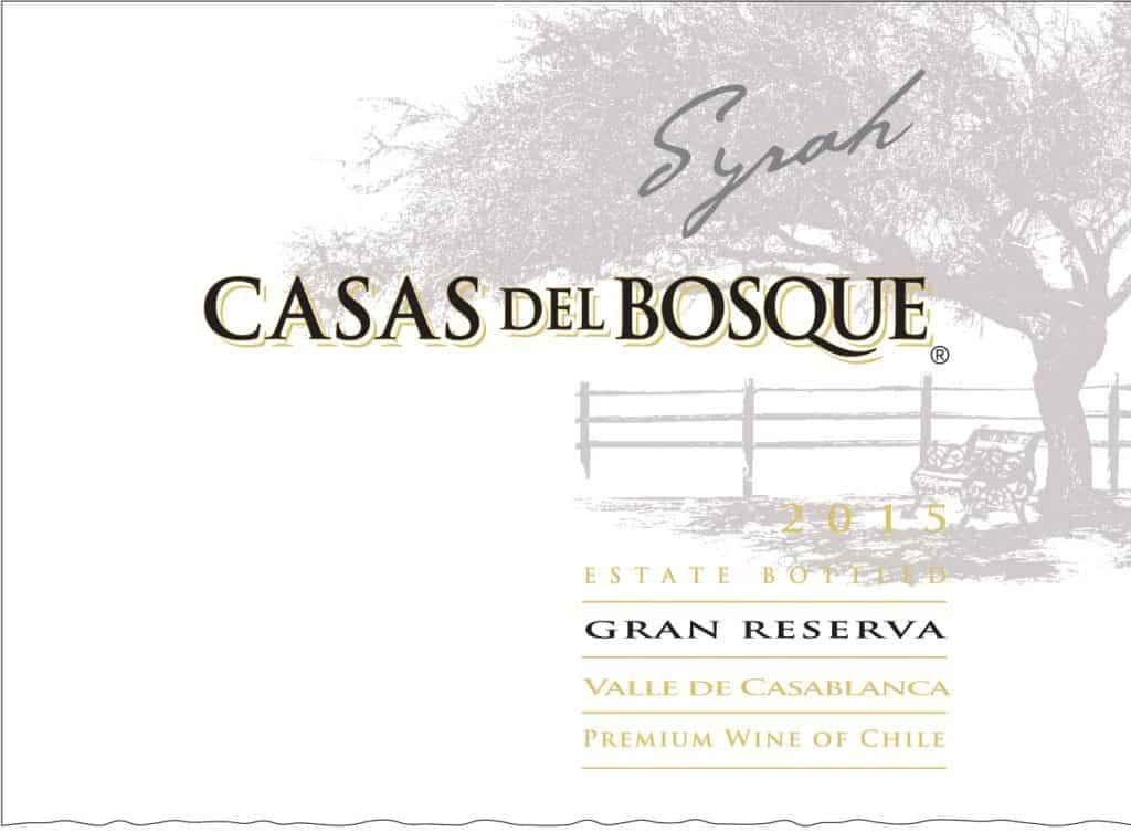 Casas del Bosque Gran Reserva Syrah 2015 Hi-Res Label