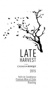 Casas del Bosque Late Harvest Riesling 2015 Hi-Res Label
