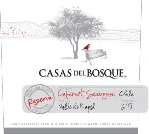 Casas del Bosque Reserva Cabernet Sauvignon 2017 Hi-Res Label