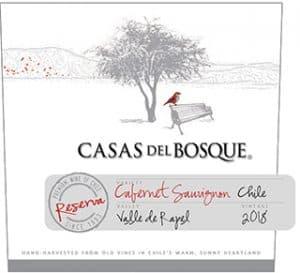 Casas del Bosque Reserva Cabernet Sauvignon 2018 Hi-Res Label