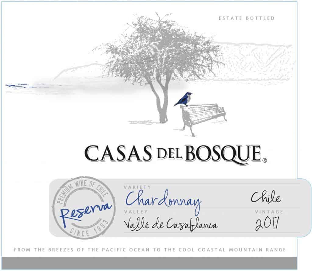 Casas del Bosque Reserva Chardonnay 2017 Hi-Res Label