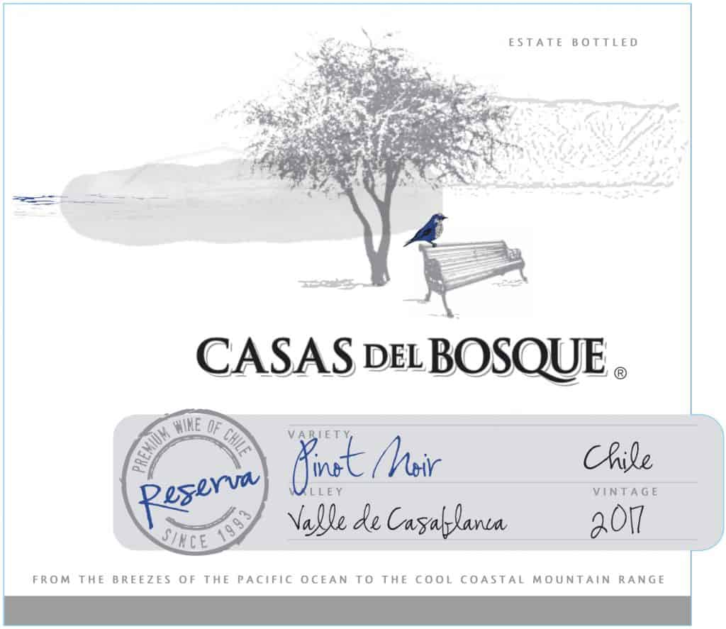 Casas del Bosque Reserva Pinot Noir 2017 Hi-Res Label