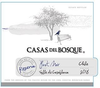 Casas del Bosque Reserva Pinot Noir 2018 Hi-Res Label