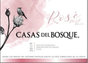 Casas del Bosque Reserva Rose 2019 Hi-Res Label