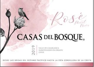 Casas del Bosque Reserva Rose 2019 Hi-Res Label