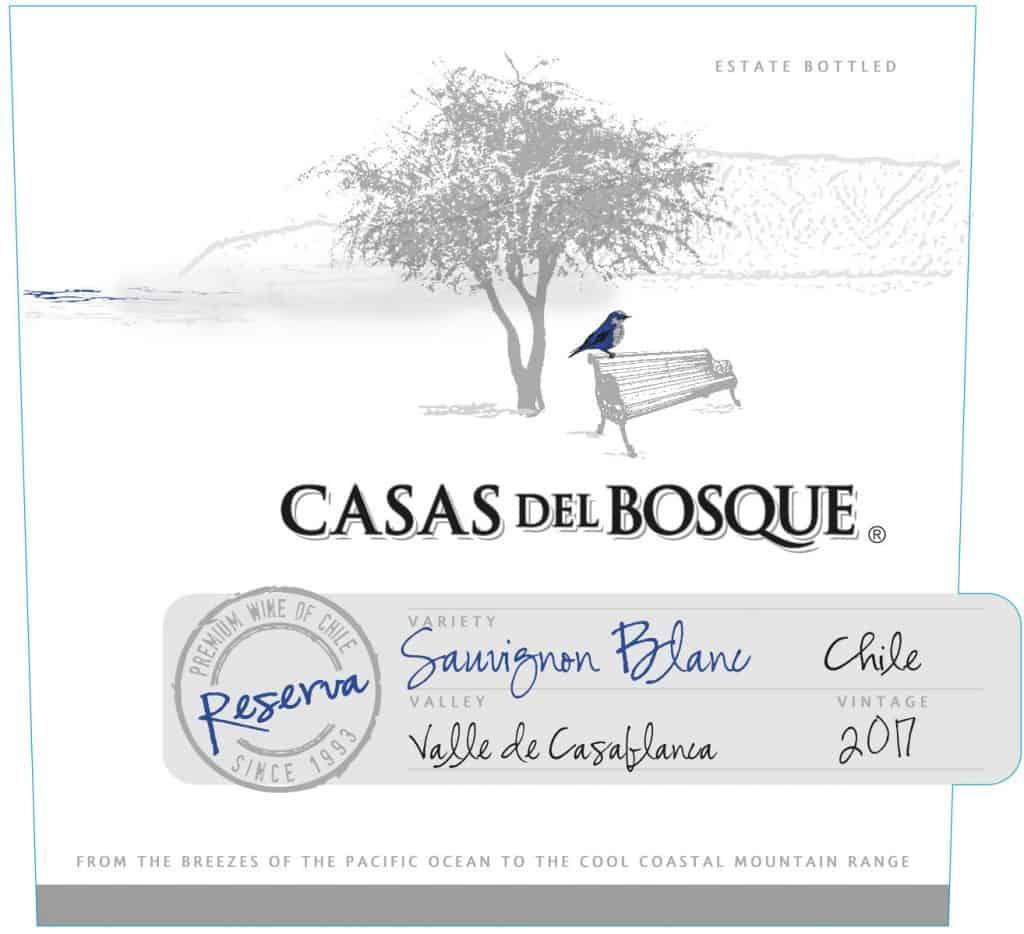Casas del Bosque Reserva Sauvignon Blanc 2017 Hi-Res Label