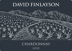 David Finlayson Chardonnay 2018 Hi-Res Label