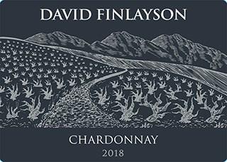 David Finlayson Chardonnay 2018 Hi-Res Label