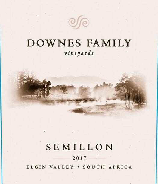 Downes Family Semillon 2017 Hi-Res Label