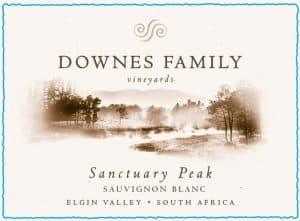 Downes Family Sanctuary Peak Sauvignon Blanc 2016 Hi-Res Label