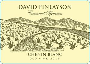 Edgebaston David Finlayson Camino Africana Chenin Blanc 2016 Hi-Res Label