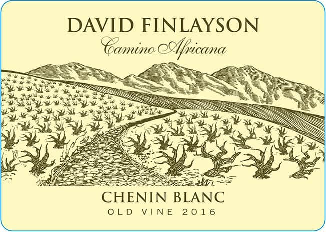Edgebaston David Finlayson Camino Africana Chenin Blanc 2016 Hi-Res Label