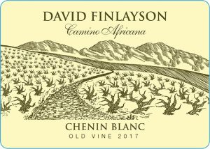 Edgebaston David Finlayson Camino Africana Chenin Blanc 2017 Hi-Res Label