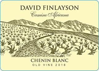 Edgebaston David Finlayson Camino Africana Chenin Blanc 2018 Hi-Res Label