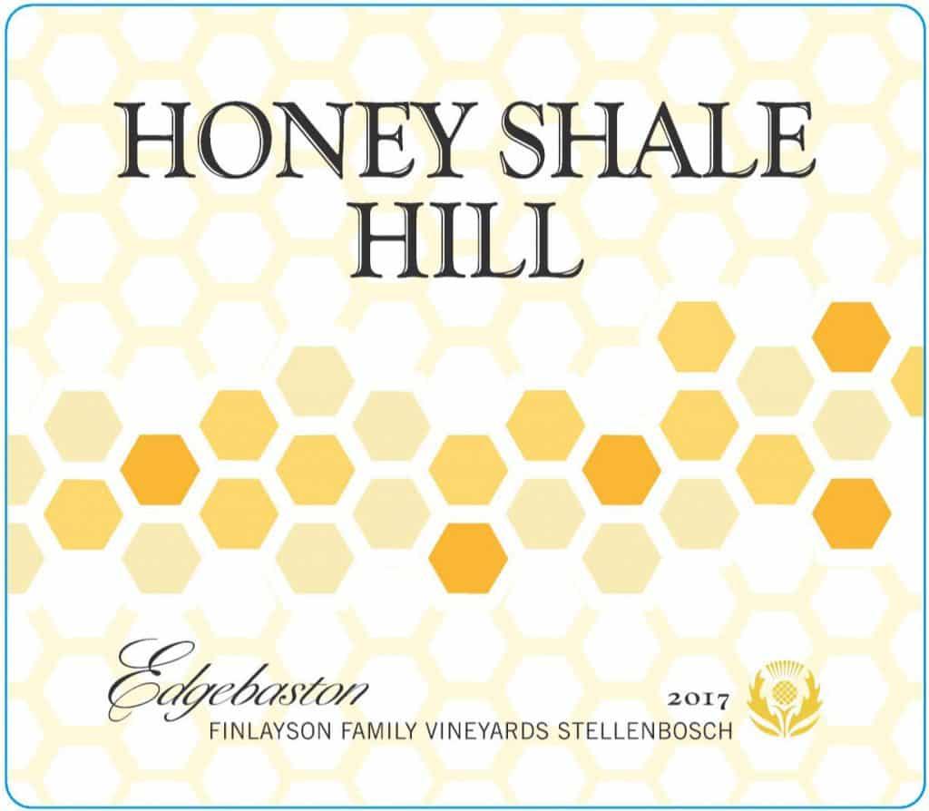 Edgebaston Honey Shale Hill 2017 Hi-Res Label