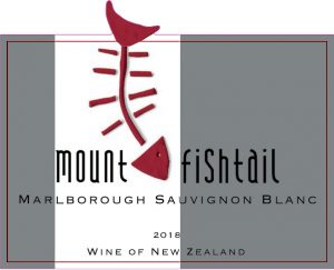 Mt Fishtail Sauvignon Blanc 2018 Hi-Res Label