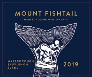 Mt Fishtail Sauvignon Blanc 2019 Hi-Res Label