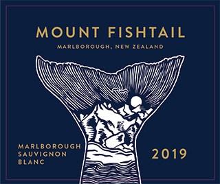 Mt Fishtail Sauvignon Blanc 2019 Hi-Res Label