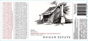 Nugan Estate Drovers Hut Chardonnay 2012 Hi-Res Label