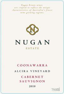 Nugan Estate Alcira Vyd Cabernet Sauvignon 2010 Hi-Res Label