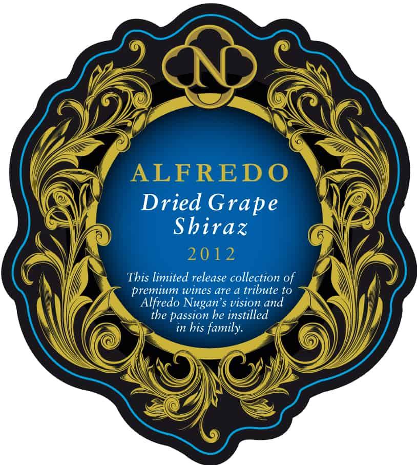 Nugan Estate Alfredo Dried Grape Shiraz 2012 Hi-Res Label